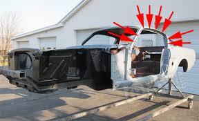 mustang fastback roof virginia mustang part 65 73 mustang roof rail