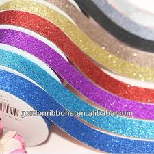 wholesale ribbon 2017 wholesale cutting pu glitter ribbon buy pu glitter ribbon