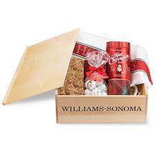 hot chocolate gift hot chocolate gift crate williams sonoma