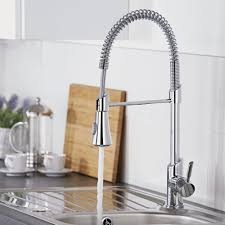 kitchen faucets uk chrome pull spray kitchen tap