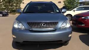 lexus pre certified vehicles pre owned silver break water blue 2005 lexus rx 350 suv awd in