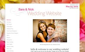 registry wedding website wedding planning 101 build an awesome wedding website