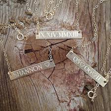 Baby Name Necklace Gold The 25 Best Mommy Necklace Ideas On Pinterest Side Cross