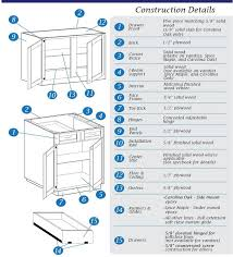 Kitchen Cabinet Construction by Discount Cabinet Company Factory Direct Custom Professional