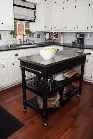 kitchen island ideas pinterest kitchen kitchen island wheels stainless steel cart on with butcher