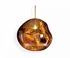 Tom Dixon Pendant Lights Melt Pendant Gold