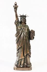 12 inch new york liberty keepsake resin statue