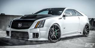 cadillac cts custom paint car cadillac cts v d3 edition on niche forged monza wheels