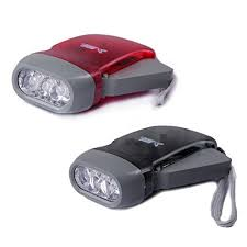 hand crank led light hde manual led flashlight no battery required instant lighting hand