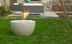 accessories cool decorative round shape modern gas fire pit with