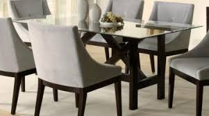 outstanding glass dining tables room glass top dining table sets