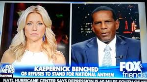 burgess owens says c kaperneck disrespected military crisis about