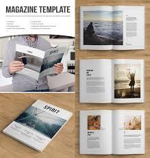freelance layout majalah magazine templates with creative print layout designs