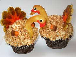 5 turkey cupcakes for thanksgiving