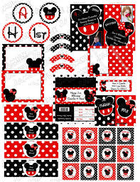 mickey u0026 minnie mouse double celebration inspired party