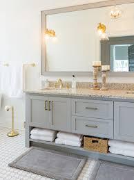 Floor Bathroom Cabinet by Brown Tile Bathroom Ideas Designs U0026 Remodel Photos Houzz