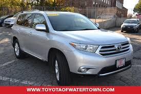 toyota highlander 2012 used used toyota highlander for sale in boston ma edmunds