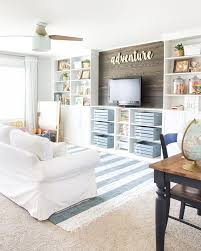 How To Build A Built In Bookcase Into A Wall 10 Ways To Diy Your Own Built In Shelves