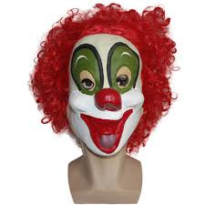 x merry toy joker clown costume mask creepy evil scary halloween