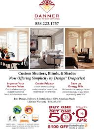 custom shutters blinds and shades for your home danmer custom
