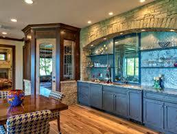 Cobalt Blue Kitchen Cabinets Kitchen Stunning Blue Kitchen Cabinets Idea With Brown Floor
