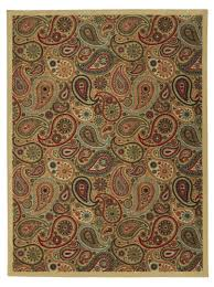 Contemporary Modern Area Rugs Ottomanson Ottohome Collection Contemporary Paisley Design Modern