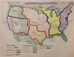 Destiny Maps Copy Of Westward Expansion In The Us Lessons Tes Teach Westward