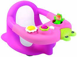 siège bain bébé smoby cotoons siège de bain et tableau d activités amazon fr