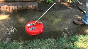 Cleaning Patio With Pressure Washer Ez Clean Gas Pressure Washer Surface Cleaner Attachment Youtube
