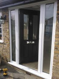 Exterior Doors Fitted Stunning Ludlow Timber Composite Door Finished In Anthracite Grey