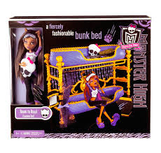 amazon monster dead tired clawdeen wolf doll bed