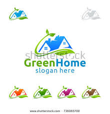 Home And Design Logo Real Estate Logo Set Creative House Stock Vector 282064757