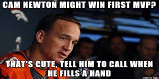 Peyton Memes - super bowl 50 battle of memes peyton manning vs cam newton sports