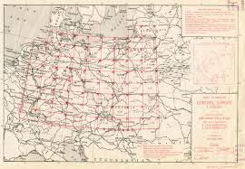 Map Central Europe by U S Army Map Service Ams Series M508 Index Map Central Europe 1