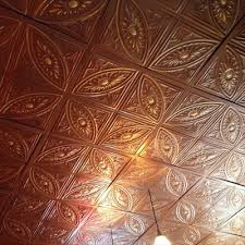 Tin Ceiling Xpress by Classic Copper Tin Metal Ceiling Tile
