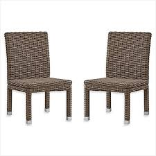 Outdoor Rattan Dining Chairs Rattan Patio Dining Set The Best Option Buy Verona Home Brescia