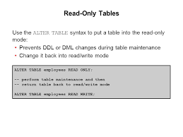 Alter Table Modify Column Oracle Using Ddl Statements To Create And Manage Tables Ppt Download