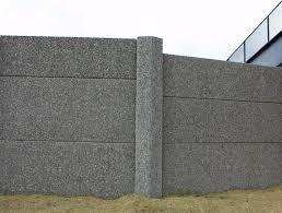 stonewall noise barrier faddis concrete
