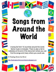 around the world passports posters bulletin board my tpt