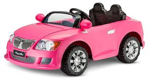 cool car toy amazon com kid trax kid trax 12v cool car kt1246 ride on pink