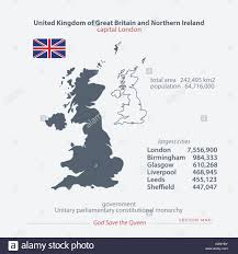 united kingdom of great britain and northern ireland maps and