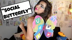 cheap easy diy halloween costume social butterfly youtube