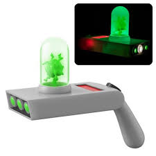 rick and morty portal gun light up prop replica with sound funko