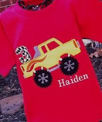monster truck toddler shirt hailey ideas