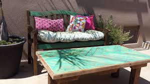 Patio Furniture With Pallets - pallet patio furniture cushions style pixelmari com