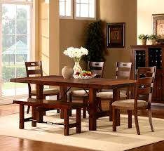 Oak Dining Room Table Sets Dining Room Table Bench Seating Dining Table Bench Ebay Dining