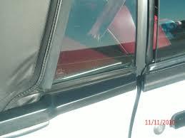 opr mustang exterior quarter window belts 94307 83 93 convertible