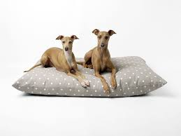 Covered Dog Bed Cotton Covered Luxury Dog Bed Available With Waterproof Liner