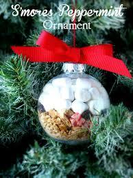 diy smores tree ornament