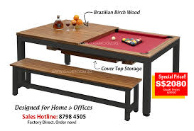 masse pool table price singapore leading 2 in 1 dining top pool table factory outlet